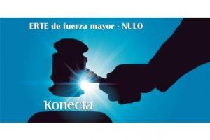 La Audiencia Nacional confirma que el ERTE de Fuerza Mayor de Konecta BTO por el Covid-19 fue NULO