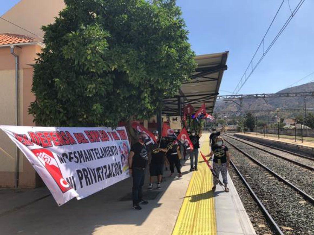 Huelga en RENFE en la provincia de Málaga a partir del próximo viernes 2 de julio