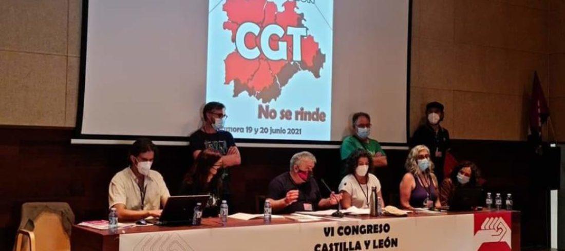 Nuevo Secretariado Permanente de CGT Castilla y León