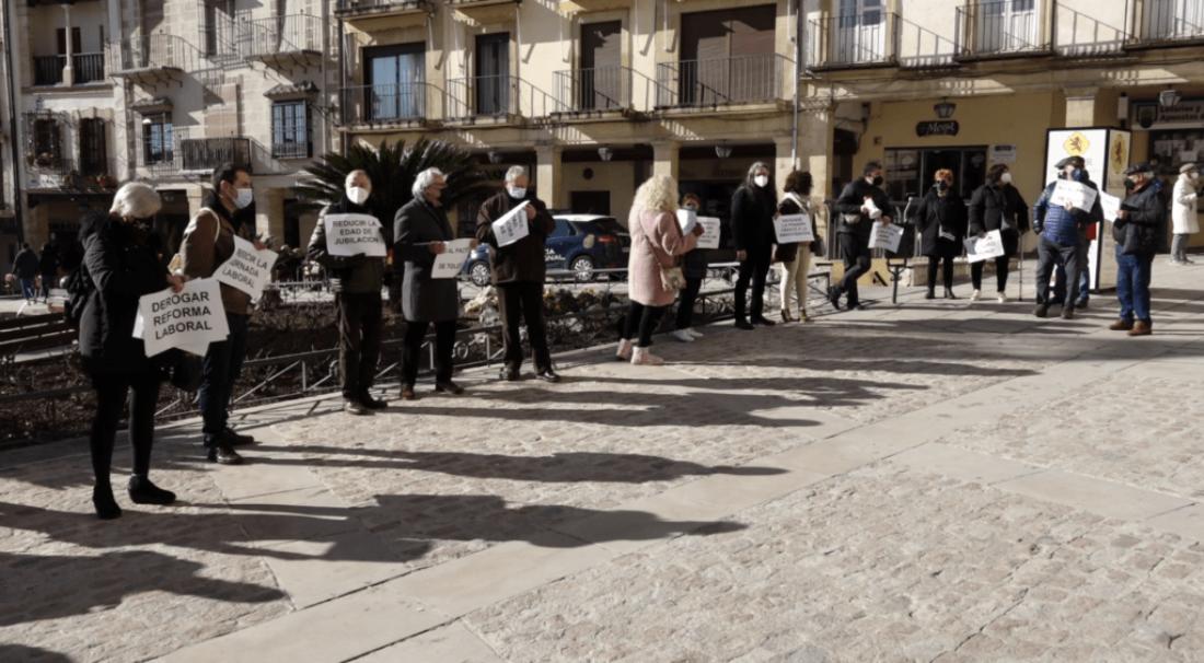 Concentración Pensiones lunes 7 de junio en Úbeda