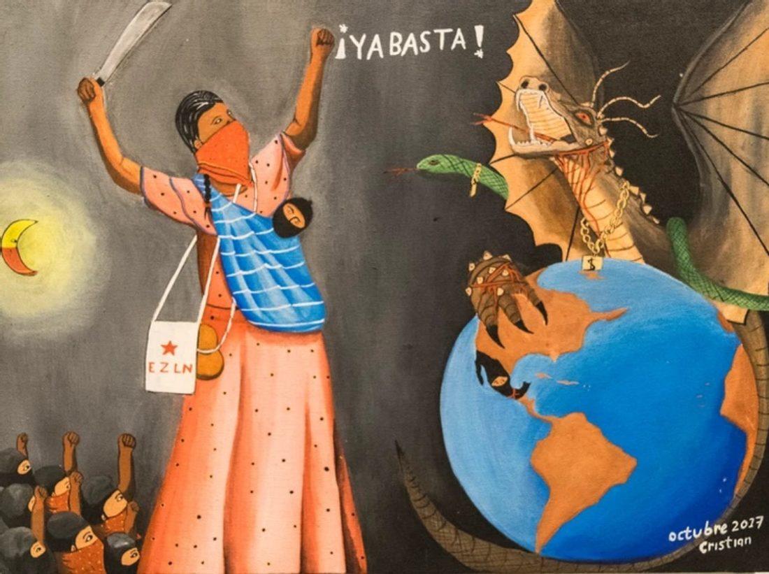 Carta de la Comisión Sexta Zapatista al Colectivo Llegó la hora de los pueblos