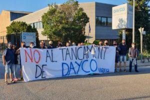 CGT ante el ERE firmado en Dayco
