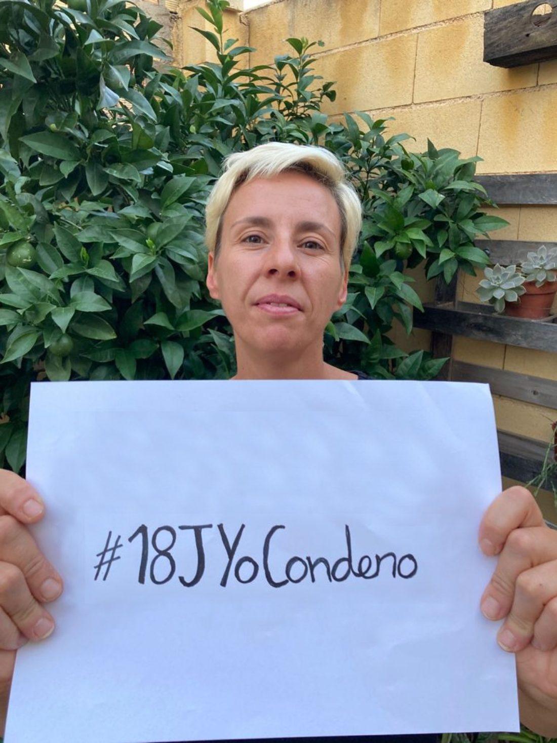 Campaña #18JYoCondeno