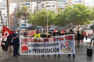 Tras el éxito de la primera jornada de huelga, a partir de las 14h del domingo 4 de julio se inicia un nuevo paro de 24h en RENFE en la provincia de Málaga