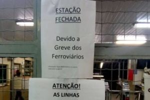 Los ferroviários de São Paulo en Brasil están en huelga