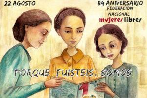 84 Aniversario de Mujeres Libres