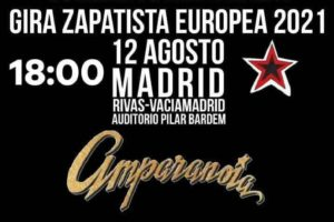 12-A: Concierto bienvenida Gira Zapatista Europea 2021