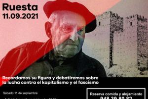 El anarcosindicalismo recuerda a Lucio Urtubia – Ruesta 11 septiembre