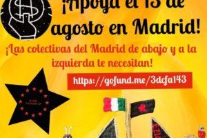 Crowdfunding en apoyo a la visita de las Zapatistas a Madrid el 13 de agosto