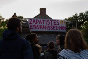 Protesta Internacional #PasoLibreZapatistas// Préfecture de Nantes #30Julio