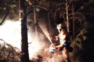 CGT SARGA denuncia un golpe de calor sufrido por un bombero forestal