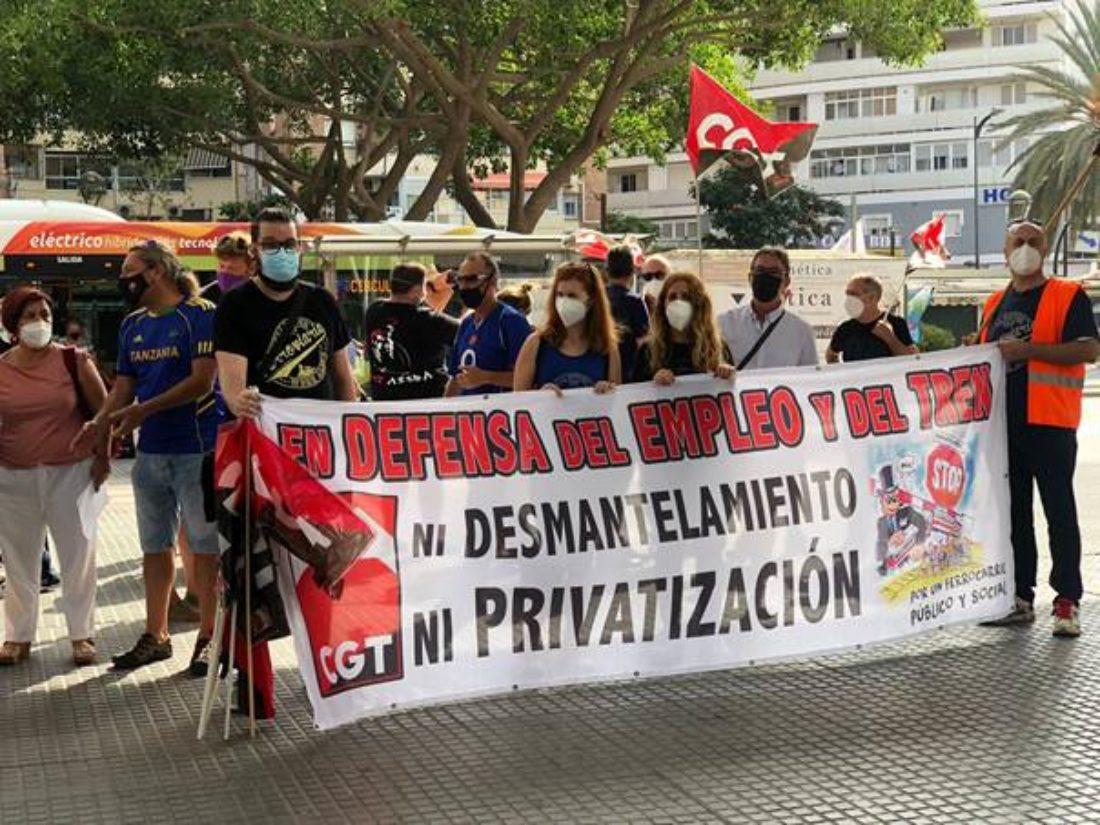 Nuevos periodos de huelga en RENFE Málaga