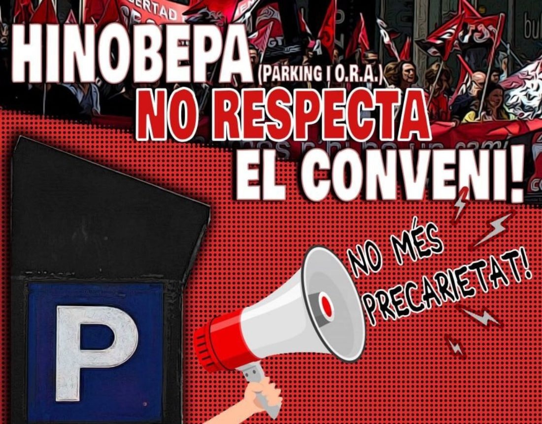 CGT convoca concentración contra los despidos en el parking y la ORA de Vinaròs