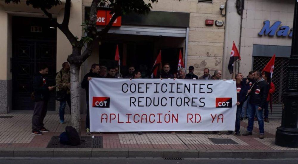 Una sentencia ganada por CGT desbloquea la cuestión de los coeficientes reductores
