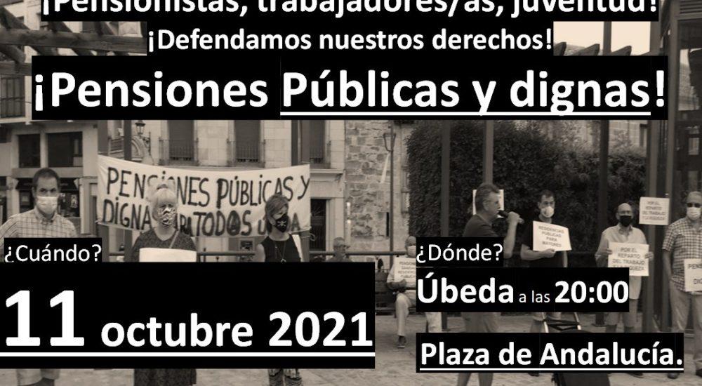 Úbeda: Movilización en defensa de las pensiones públicas