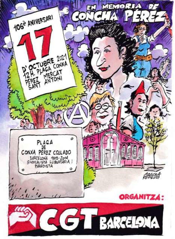 17 de octubre recuerdo a Concha Pérez