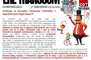 Comienza el mercadeo en el ERE de Transcom:Propuestas miserables e imposibles para fingir buena fe