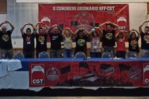 Celebrado en Antequera (Málaga) el II Congreso Ordinario del Sector Federal Ferroviario de CGT